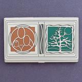 Genealogy Business Card Holder Case