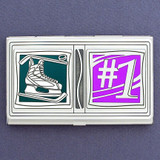 #1 Hockey Champions Business Card Case