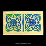 Irish Celtic Decorative Business Card Holder