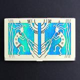 Kokopelli Decorative Business Cards Case