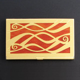 Ribbons Decorative Holder for Credit Cards