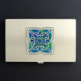 Celtic Knot Business Card Holder