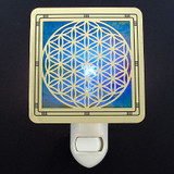 Flower of Life Night Light