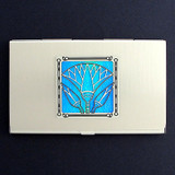 Egyptian Lotus Business Card Holders