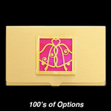 Wedding Bells Business Card Holders