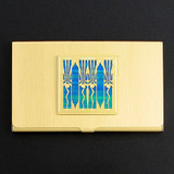 Art Deco Business Card Case