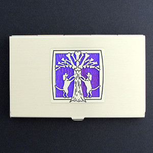 Dogs & Bone Tree Business Card Holders