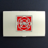 Firefighter Business Card Holders
