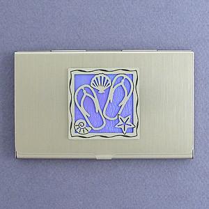 Flip Flops Business Card Holders