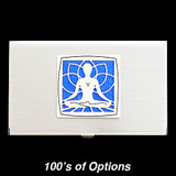 Yoga Business Card Holders