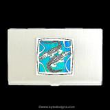 Alligator Business Card Holders