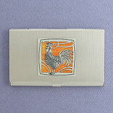 Rooster Business Card Holders