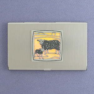 Sheep Business Card Holders