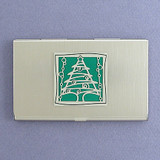 Christmas Tree Business Card Holders