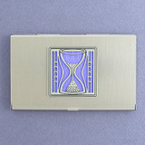 Hourglass Business Card Holders