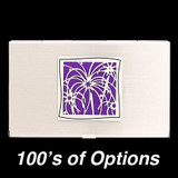 Captivating Fireworks Business Card Holders