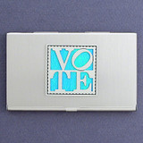 Voting Business Card Case