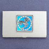 Eagle Coin Business Card Case