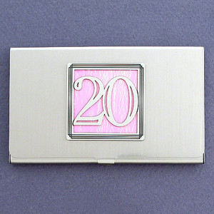 Number Twenty Business Card Case