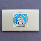 Virgin Mary Business Card Case