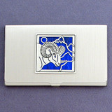 Ram Business Card Case