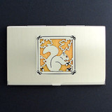 Squirrel Business Card Case