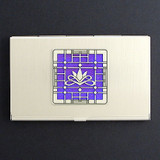Victorian Lotus Card Case