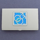 Gay Pride Business Card Holder