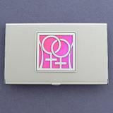Lesbian Business Card Holder