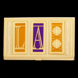 Los Angeles Home Team Lakers Business Card Holder