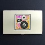 Billiards Business Card Holder
