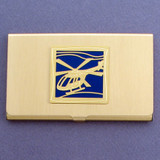 Helicopter Business Card Holder