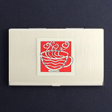 Coffee Business Card Cases