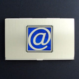 At Symbol Business Card Holder