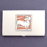 Dachshund Business Card Case