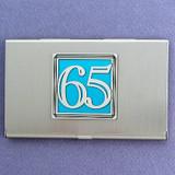 Number 65 Business Card Case