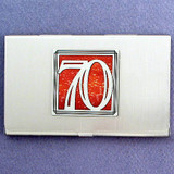 Number 70 Business Card Case