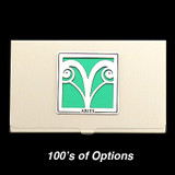 Aries Sign Business Card Case