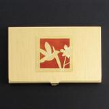 Hummingbird Business Card Case