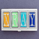 X-Ray Technician Business Card Cases