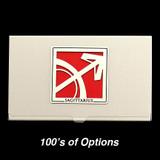 Sagittarius Sign Business Card Cases