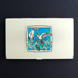 Colorful Parrots Business Card Holders