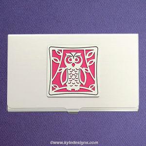 Owl Business Card Case