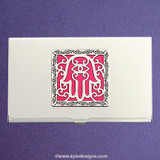 Good Fortune Hamsa Business Card Case