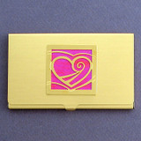 Heart Business Card or Credit Card Holders
