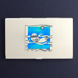 Sea Otter Business Card Case