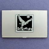 Falcon Business Card Holder