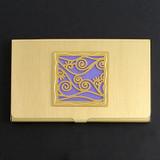 Vine Pattern Business Card Holder