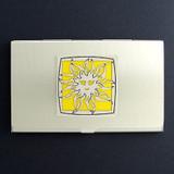 Sun Business Card Holder