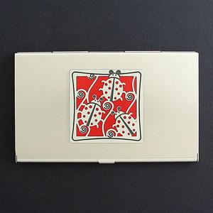Ladybug Business Card Case